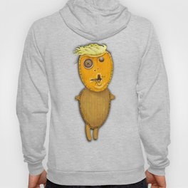 Orange Voodoo Doll Hoody