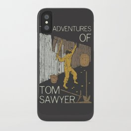 Books Collection: Tom Sawyer iPhone Case