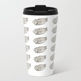 Seashell Metal Travel Mug