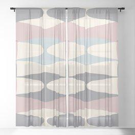 Zaha Pastel Sheer Curtain