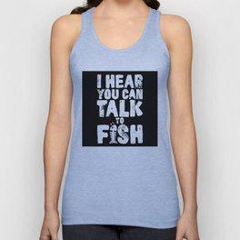 Aquaman - I hear you can talk to fish Unisex Tank Top
