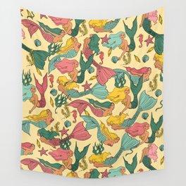Mermaid Dreams Wall Tapestry