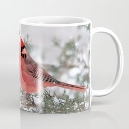 Winter's Beauty Cardinal Coffee Mug