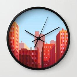 Charming City Wall Clock