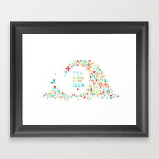 Tea Idea Framed Art Print