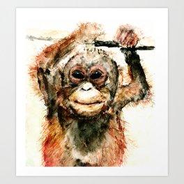Pongo Art Print