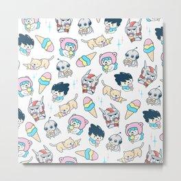 Everybody loves ice cream Metal Print