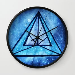 Into the Abyss II Wall Clock