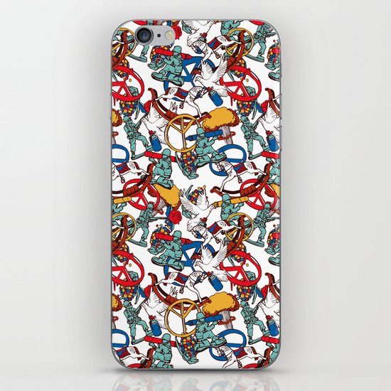 Warpaint iPhone & iPod Skin