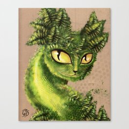 Fern Cat 2013 Canvas Print