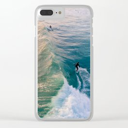 Wave Rider Clear iPhone Case