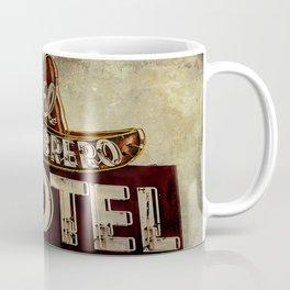 Vintage El Sombrero Motel Sign Coffee Mug