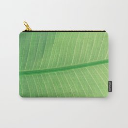 Green Plant Leaf Carry-All Pouch