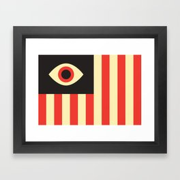 Stares and Stripes Framed Art Print