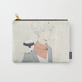 snow, and silence. Carry-All Pouch