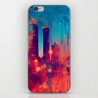 atlanta iPhone & iPod Skins featuring Graffiti Atlanta  by Danielle DePalma