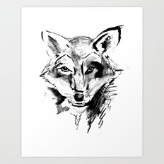 The Foxy Wolf Art Print