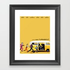 A Courtroom on the Verge of a Breakdown Framed Art Print