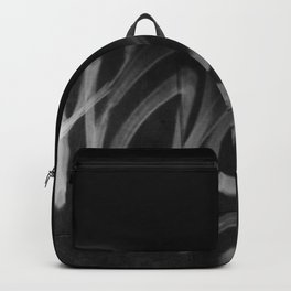 Street Graffiti in Black and White Backpack