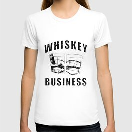 Whiskey Business risky movie poster drinking wicked games james bond daniel craig chris isaak bachel T-shirt