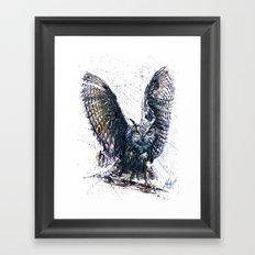 Owl 3 Framed Art Print