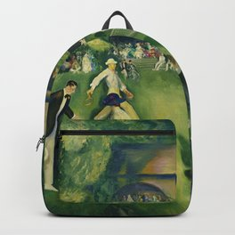 "George Wesley Bellows ""Tennis at Newport (1920)"" Backpack"