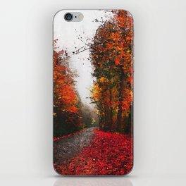 An Autumn full of Magic iPhone Skin