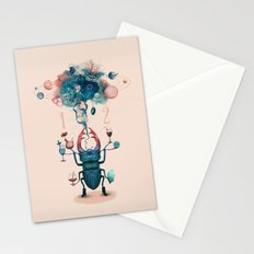 funny beetle Stationery Cards