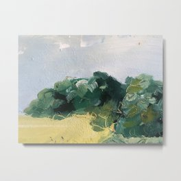 original abstract imagined landscape number 4 Metal Print