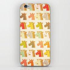 Multi Unicorn iPhone & iPod Skin
