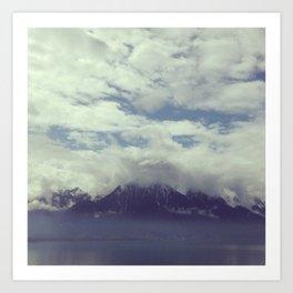 Mystic Mountain Art Print