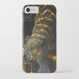 molten tiger iPhone Case
