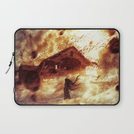 And Now... Kiss The Burning Darkness Laptop Sleeve