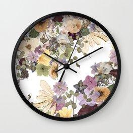 Floral Ella Wall Clock