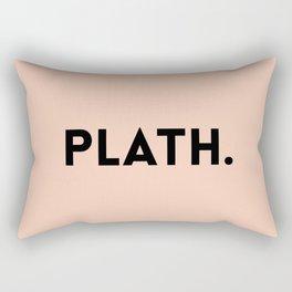 Sylvia Plath Rectangular Pillow