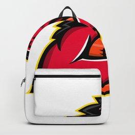 Wild Boar American Football Mascot Backpack