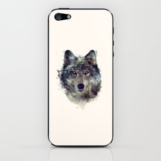 Wolf // Persevere  iPhone & iPod Skin