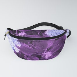 Queen Anne's Lace with Purple Leaves Fanny Pack