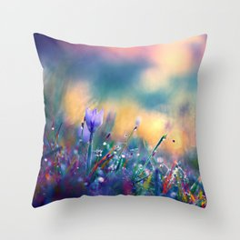 Begin of a Story Throw Pillow