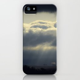 Shades of Blue iPhone Case