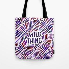 Wild Thing – Indigo Palette Tote Bag