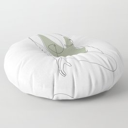 Matcha Nude Floor Pillow