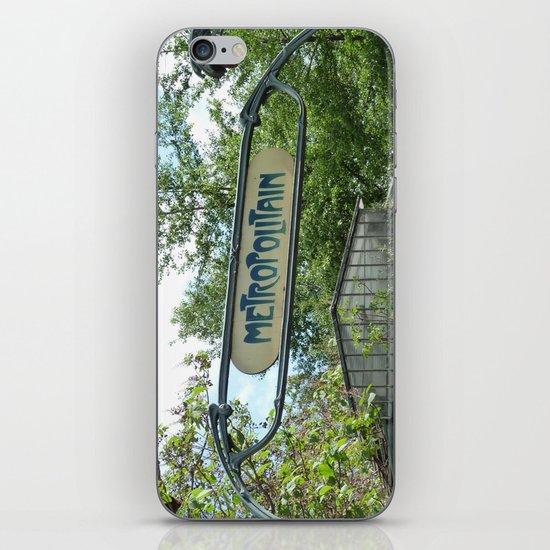 Metropolitain iPhone & iPod Skin