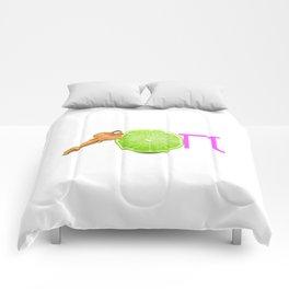 Key Lime Pi Comforters
