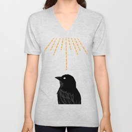 Desert Bird Unisex V-Neck