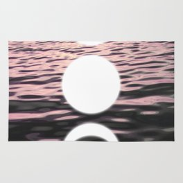 Moon at Sunset Rug