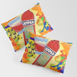 Vintage Cordial Campari Limited Edition Advertisement Poster #2 of 8 originally limited to 70 by Ugo Pillow Sham