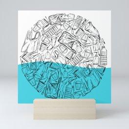 Circle of Plastics Mini Art Print