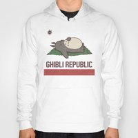 nausicaa Hoodies featuring Ghibli Republic by Li.Ro.Vi
