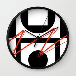 Breaking Loose Wall Clock